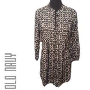 Old Navy Reptile Print Tunic